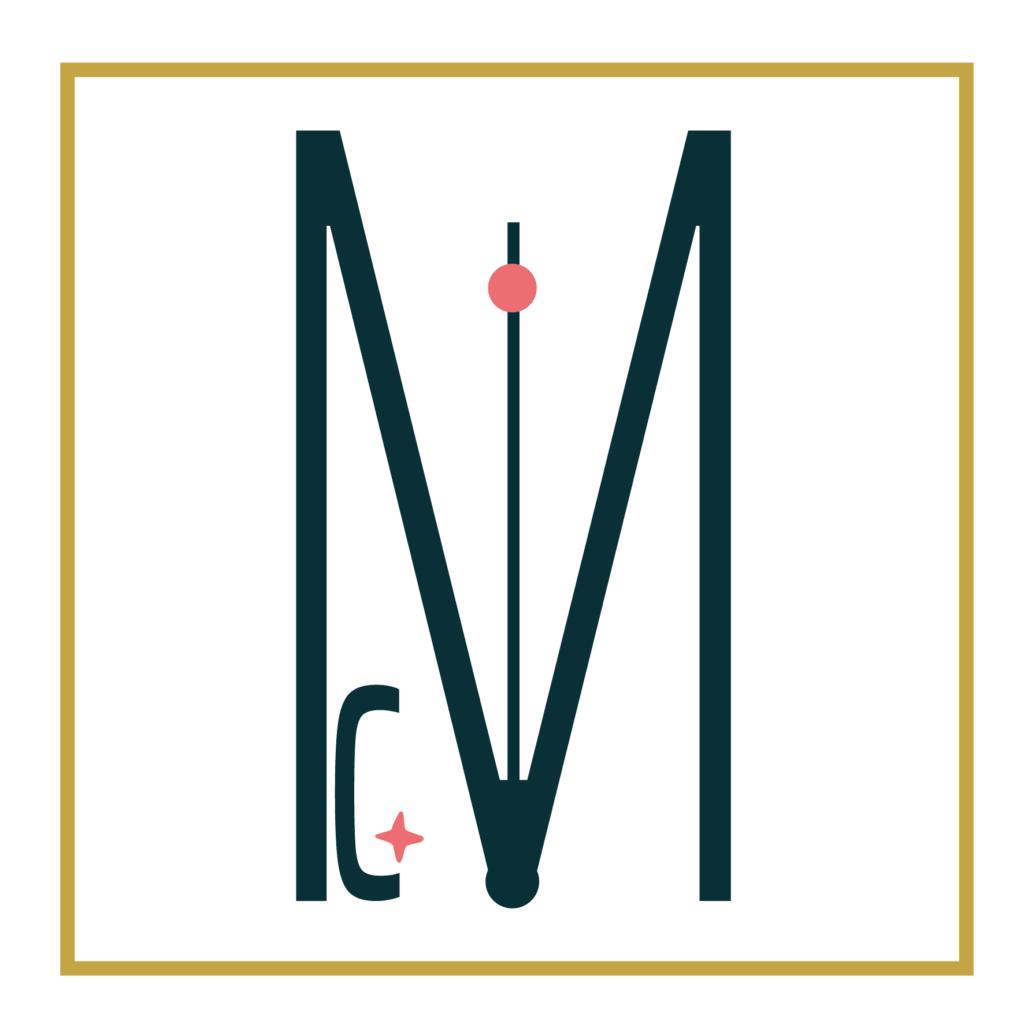 Le logo créée par Gaelle Milhorat est à la fois sobre et élégant.